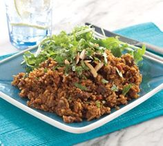 Spicy Indian mince and rice - Healthy Food Guide Minced Beef Recipes, Spicy Recipes, Indian Food Recipes, Real Food Recipes, Healthy Recipes, Ethnic Recipes, Ww Recipes, Healthy Foods, Dinner Recipes