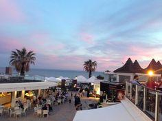 Summer sunset in the Praça at Vale do Lobo, Algarve, Portugal - thanks to @m4rtinthomas