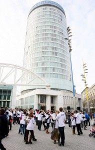 Flash mob hits Birmingham's Bullring Slow Dance, Stunts, Birmingham, Travel, Viajes, Waterfalls, Destinations, Traveling, Trips