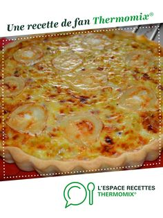 leek pie with bacon and goat cheese - leek and bacon goat cheese pie by A fan recipe to find in the category Pies and savory pie - Tart Recipes, Pizza Recipes, Vegan Recipes, Vegan Breakfast Recipes, Brunch Recipes, Crockpot Recipes For Two, Leek Pie, Cheese Pies, Pizza