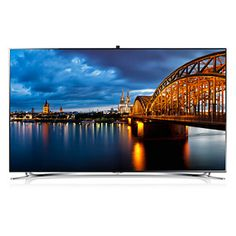 """SAMSUNG The stunning and sleek F8000 HD TV is destined to impress - Visit Samsung Today for the 55"""" 8000 LED Television"""