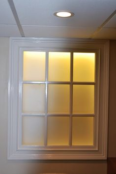 Beautiful Basement Window Wall