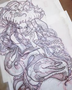 New back piece for today. Pretty excited for this one!! #eelanor
