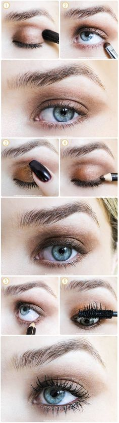 Step by step summer make up tutorial by the beauty department