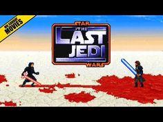 The Last Jedi 16-bit Recreation - Neatorama