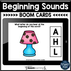 This is a set of 26 digital task cards for Beginning Sounds. Students will look at the picture and choose the correct beginning sound.Audio for pictures included.Check out a preview of this set HERE.Please Note: When you purchase this product on TpT, you will download a PDF that will contain a link ... Teaching Reading, Learning, Letter Matching, Teaching Letters, Number Recognition, Beginning Sounds, Letter Sounds, School Resources, Task Cards