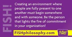 FISH! Philosophy   Success Commitment  Deena Ebbert (@Propellergirl)   Twitter