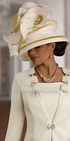 I would love just once to attend church where everyone wears fabulous hats, so elegant.