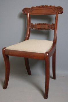 Regency Dining Chair on AntiqueForSale from Nimbus Antiques