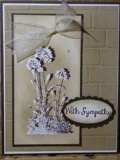 sympathy - Homemade Cards, Rubber Stamp Art, & Paper Crafts - Splitcoaststampers.com