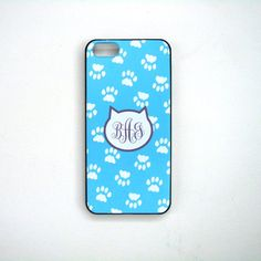 Cat Footprints  Personalized iPhone Case