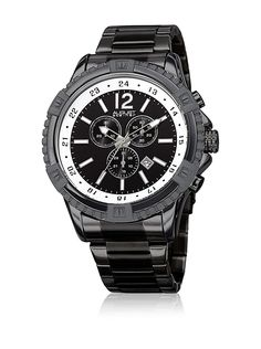 August Steiner Men's Quartz Stainless Steel Casual Watch, Color:Black (Model: AS8229BK) * You can get additional details at the image link.