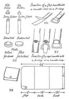 Leatherwork: Patterns and Instructions - Leatherworking & Leathercraft - Crafts & Hobbies MXS - PDF Classic Books