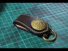 Hagora Men Black Brown Solid Leather Groove Edges 1-3//4 Wide Brass Buckle Belt