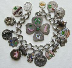 Vintage Charm Bracelet, Charm Bracelets, Charm Jewelry, Or Antique, Antique Jewelry, Vintage Jewelry, Sterling Silver Jewelry, Gold Jewelry, Fine Jewelry