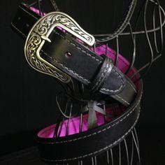 Miss Be Havin' - Smooth Black Holster Belt