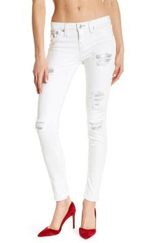 Sequin Destroyed Super Skinny Jeans Super Skinny Jeans, True Religion, Nordstrom Rack, Capri Pants, Sequins, Fashion, Moda, Capri Trousers, Fashion Styles