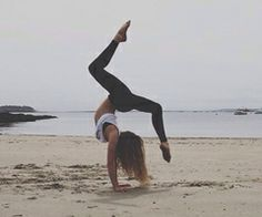 #summer #yoga #beach #working out