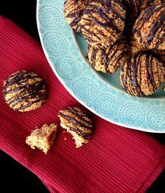 Mexican Chocolate Macaroons (nut free, grain free, dairy free) | GrokGrub.com