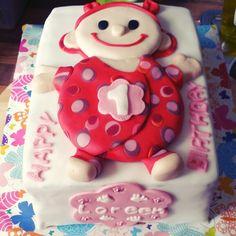 Cake birthday girl