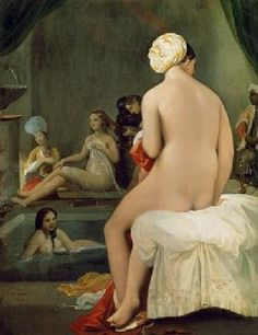 Jean Auguste Dominique Ingres - The Little Bather in the Harem