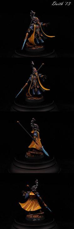 Eldar Farseer - Iyanden Craftworld by Daith