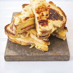This crusty Croque Monsieur is the perfect breakfast/lunch for every cheese lover out there. Get the recipe at Redonline.co.uk