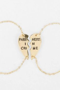 Two bracelets to share with your bff