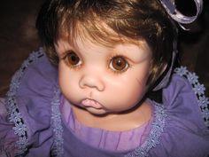 """Porcelain 20"""" little girl"""