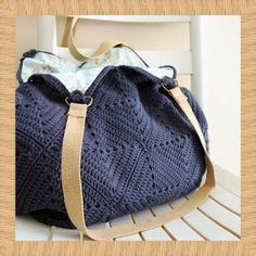 crochet home: handbag
