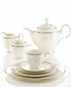 """Friday night book club ladies will love your sophisticated tea-ware, even if you are reading """"The Confessions of a Shopaholic""""."""