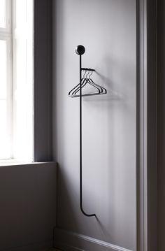 PUJO Coat Rack + Coat Hangers