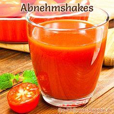 Abnehmshake mit Tomaten selber machen