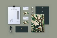 Montréal-based studio Booth recently developed this lovely identity for The Secret Garden, a traditional Cape Cod bed and breakfast.
