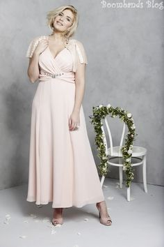 A Plus Size Wedding Dress from the new Bridal Collection at Simply Be. For gorgeous, plus size brides and their curves.