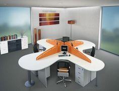 Oficinas on pinterest madrid offices and cubicles - Decoracion de oficinas modernas ...