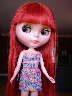 crocheted dress by morganannie, via Flickr