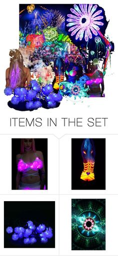 """Electric Daisy Carnival"" by vintagecocobythelake ❤ liked on Polyvore featuring art, vintage, EDC, festivaloflights and electricdaisycarnival"