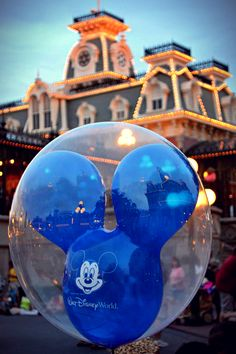 Mickey Mouse Balloons on Main Street USA !!