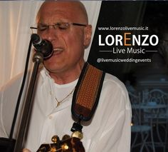 Accompagnato dalla sua inseparabile chitarra e con amplificazione ed attrezzatura propria, Lorenzolivemusic propone un ampio repertorio cha va dalla musica ital