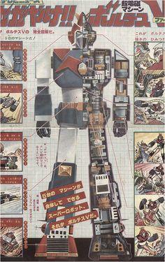 波羅五號︱超電磁マシーン ボルテスV︱Voltes V︱V型電磁俠︱太空五虎將︱超電磁機器人波魯吉斯V