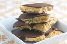 Chocolate Peanut Butter Squares