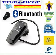 Auricular Bluetooth Headset Para BQ Doogee Manos Libres Android Negro Microfono