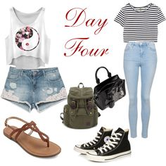 Day Four by sara1096 on Polyvore featuring polyvore fashion style Enza Costa Topshop Zara Converse Alexander McQueen