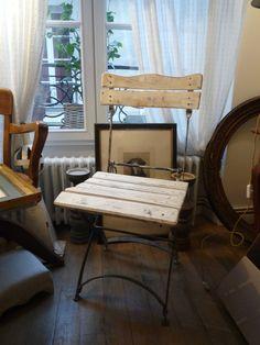 Chaise de square XIXe