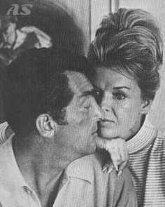 Dean Martin and his wife Jeanne