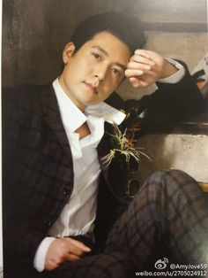 More pictures from Jo Hyun Jae's fan magazine JOVE 59 volume 4 . Korean Drama Tv, Korean Actors, Hyun Jae, Drama Tv Series, More Pictures, Kdrama, Singer, Peacocks, Magazine