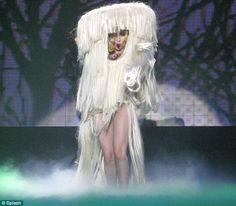 Favorite thing on the Monster Ball Tour, and I want to walk around as a furry Trashcan mushroom thing.