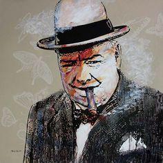 The Optimist - Winston Churchill No 2