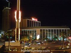 The Frontier Hotel and Casino a few months before it was imploded, Las #Vegas #Nevada #photos